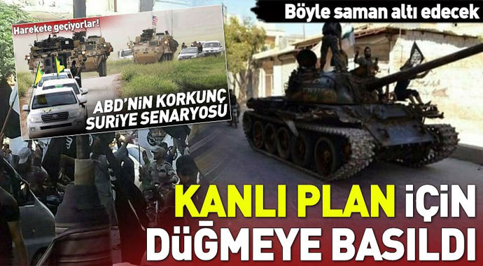 Amerika'nın Türkiye'ye kanlı planı Suriye'yi kullanarak...
