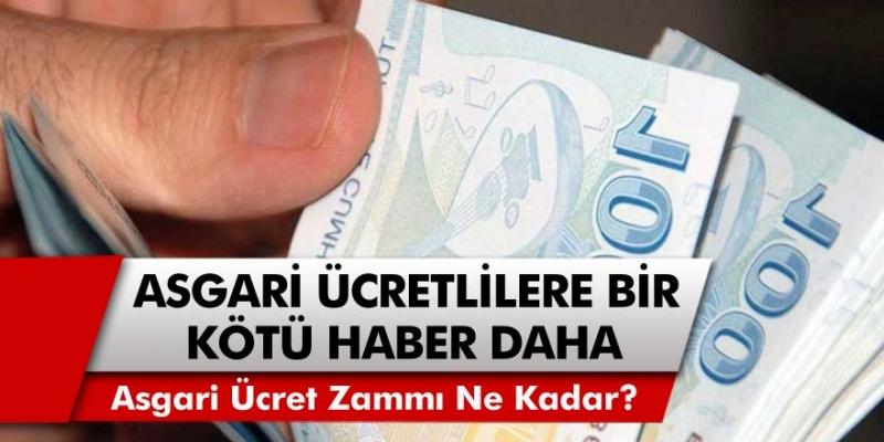 Asgari ücretle çalışanlara bir darbe daha geldi! Zam oranları, milyonlarca kişiyi üzecek… Asgari ücret zammı ne kadar oldu?