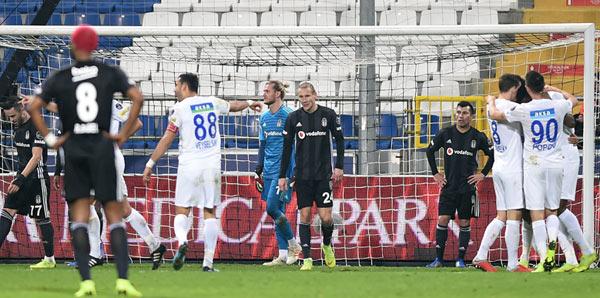 Kasımpaşa 4-1 Beşiktaş Maç Sonucu