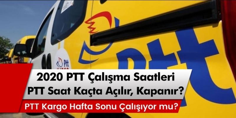PTT ve PTT Kargo Saat Kaçta Açılıyor Kaçta Kapanıyor?
