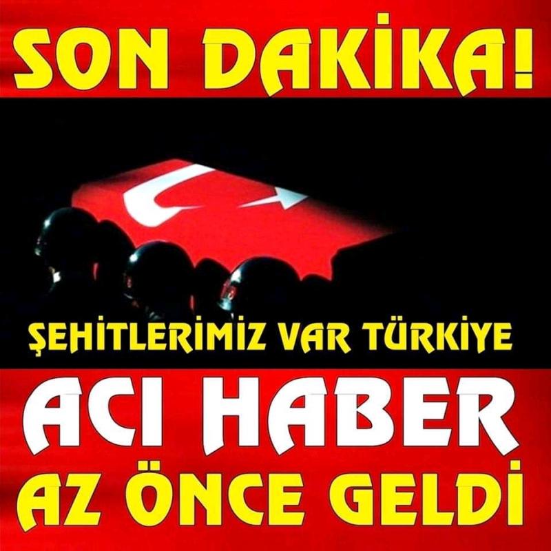 Diyarbakır'dan acı haber şehit ve yaralılarımız var