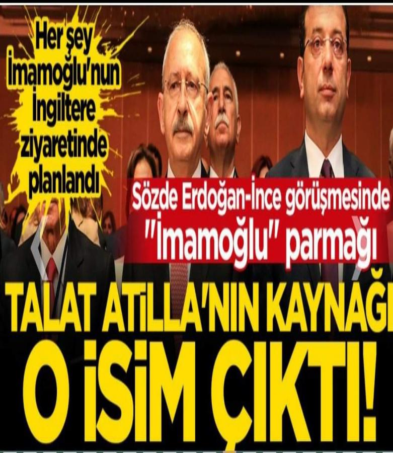 Erdoğan ince konuşmasında imamoğlu parmağı var