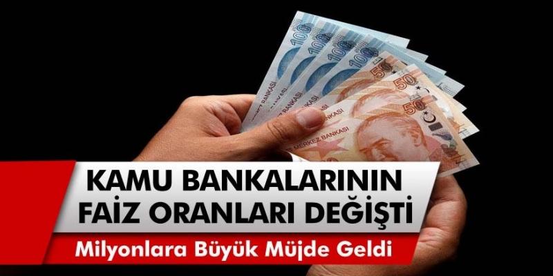 Kamu bankaları faiz oranlarını güncelledi! Borcunuz ya da bankada paranız varsa dikkat…
