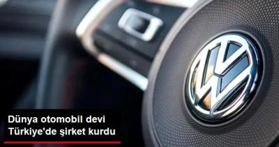 Alman otomobil firması Volkswagen Manisa'da şirket kurdu