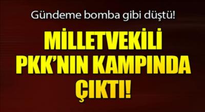 Gündeme Bomba Gibi Düştü Melletvekili Pkk Kampında!