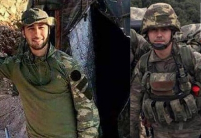 Şehit naaşını alamayan iki asker TSK'den atıldı
